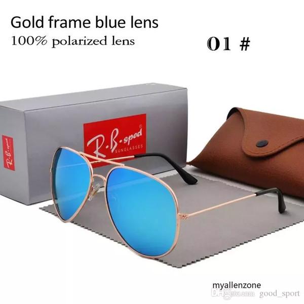 Marca Designer Polarizada Óculos De Sol Clássico Óculos de Sol Aviador para  Homens Mulheres Óculos de bfed3d5a72