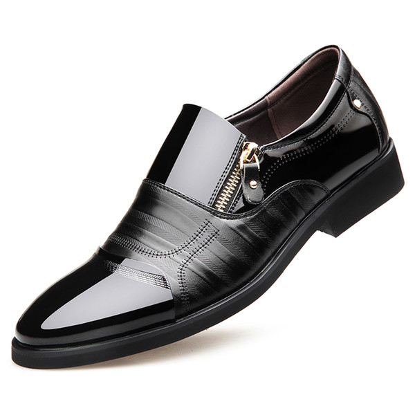 best website shades of retail prices Luxury Brand Design Men Brogues Dress Leather Shoes Male Formal Shoes Zip  Formal Business Men Oxfords DA036 Dress Shoes For Men Leather Shoes From ...