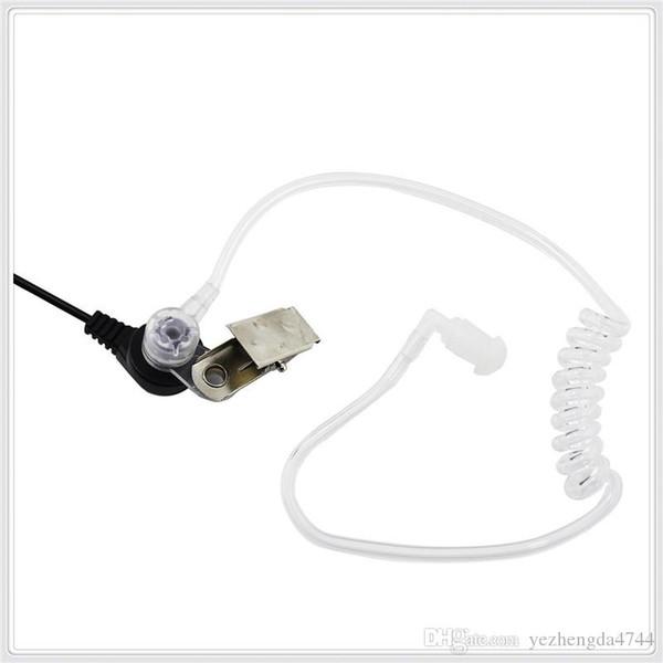 2-Pin Covert Acoustic Tube Earpiece Headset for Kenwood Puxing Wouxun Baofeng Two Way Radio 2pin Free Shipping