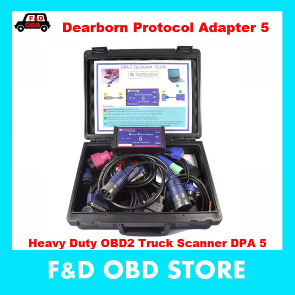 2019 Top Fashion New Dpa5 Dearborn Protocol Adapter 5 Heavy Duty Truck Scanner Released Cnh Dpa Without Bluetooth As Nexiq/ Tdk
