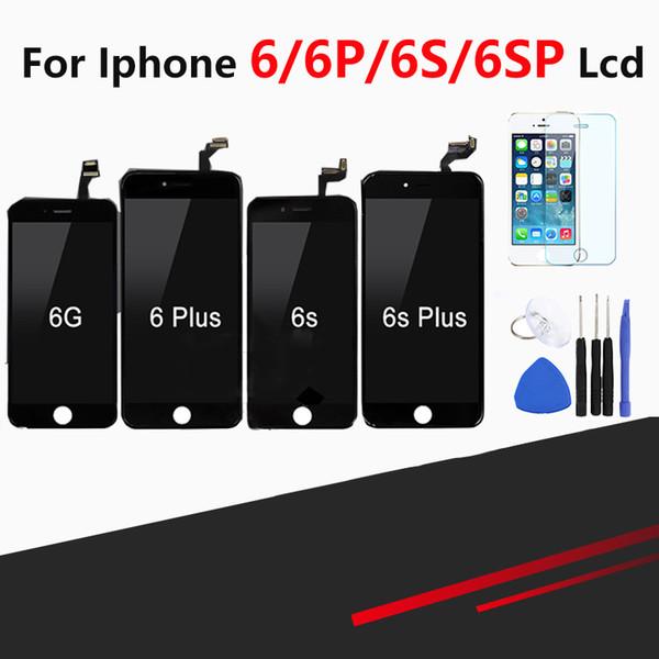 Touch Screen di qualità superiore al dettaglio per iPhone 6 6 Plus 6s 6s Plus Display LCD Pantalla Assembly Digitizer Replacement + Strumenti gratuiti