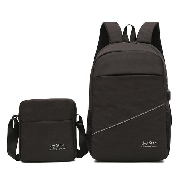 Zaino per laptop da viaggio, zaino per laptop resistente agli affari, con porta di ricarica USB, borsa per computer scolastica resistente all'acqua