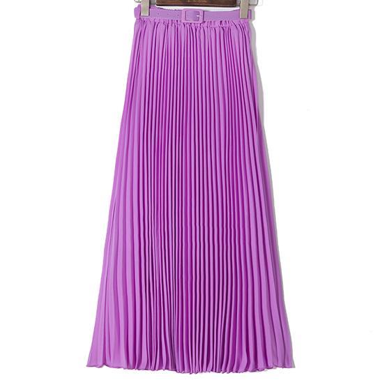 Purple Long Skirts