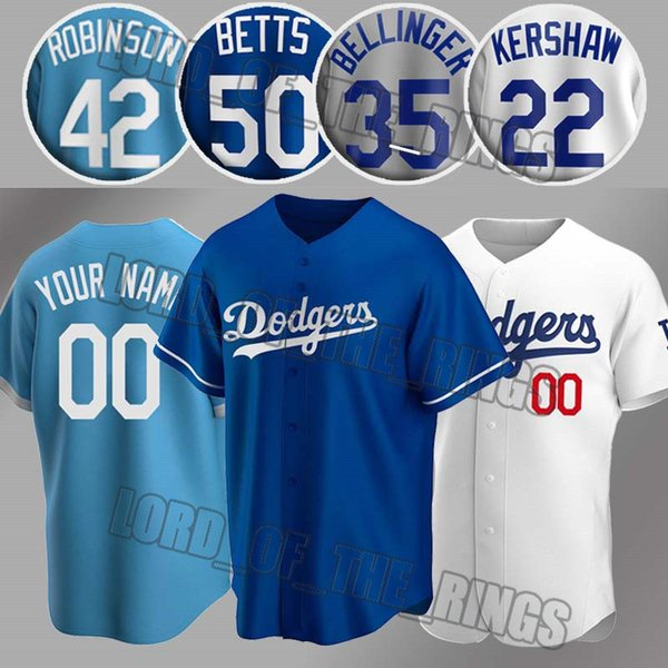 best selling Los Angeles Custom Dodgers Mookie Betts Jerseys Cody Bellinger Jersey Clayton Kershaw Enrique Hernandez Justin Turner Corey Seager