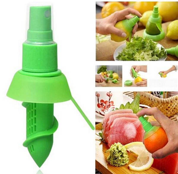 top popular Kitchen Accessories Creative Lemon Sprayer Fruit Juice Citrus Lime Juicer Spritzer Kitchen Gadgets Goods for The Kitchen 2020