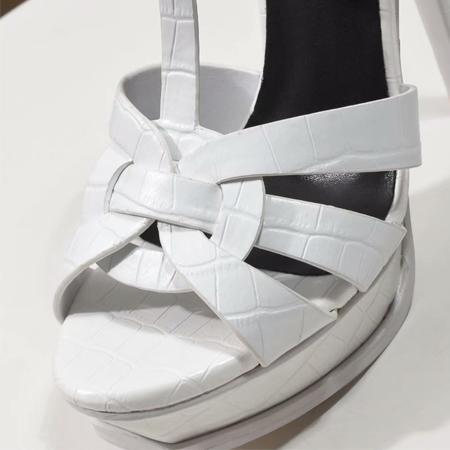 Crocodilo-impressão-Branco