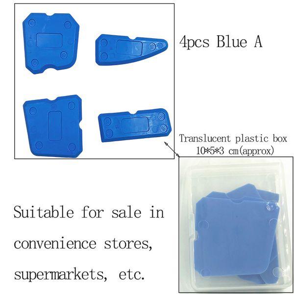 4pcs Blue con la caja