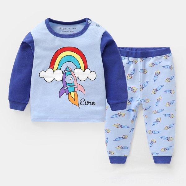 U6890 Light Blue Rocket pantalones azules