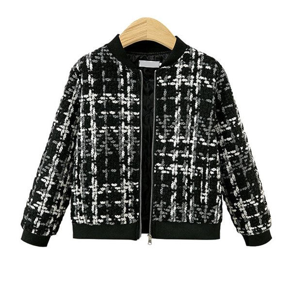 top popular Womens Black Jacket Woolen Short Coat Short Casual Baseball Jackets 2020