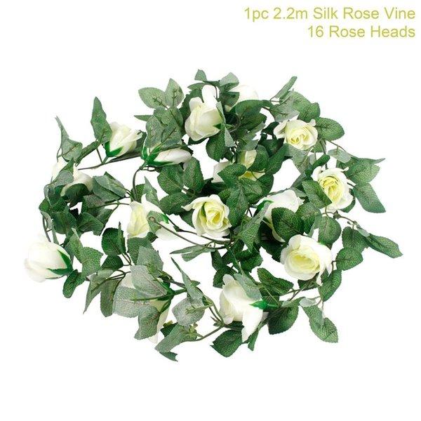 weiß Rosevine 220cm