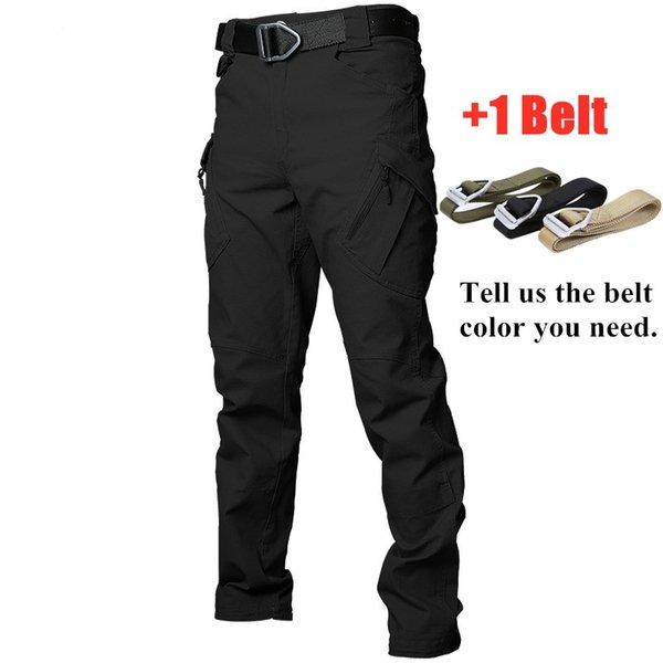 Noir avec ceinture