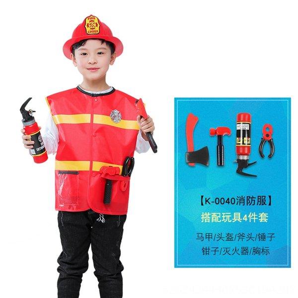 K-0040-bombeiro Roupa