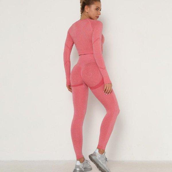 Розовый Длинные