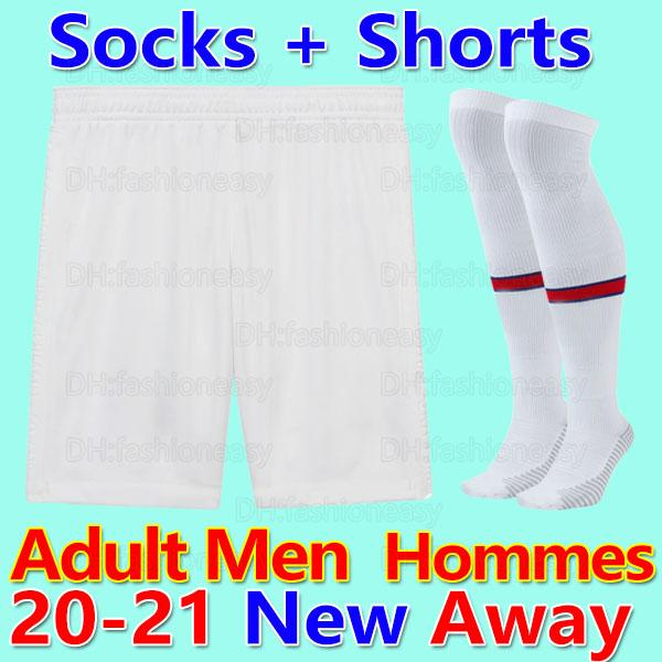 20 21 Herren Shorts Socken