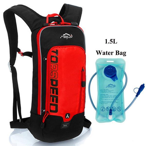 RD con bolsa de agua