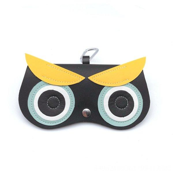 Yellow eyebrow cartoon bag