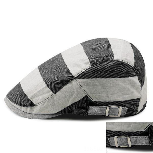 larga fascia herringbone pattern-nero-Ad