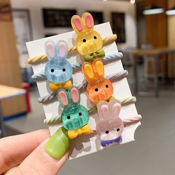 6# rabbit five-piece set