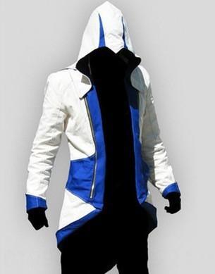 Blanc et bleu Assassin # 039; s Creed