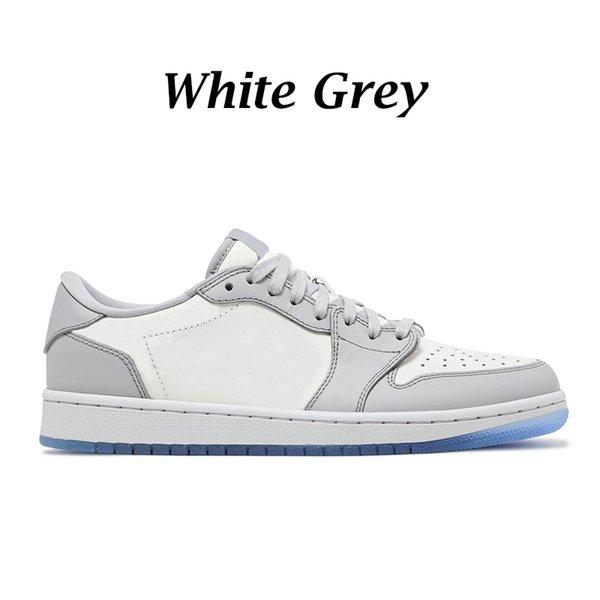 Weiß Grau niedrig