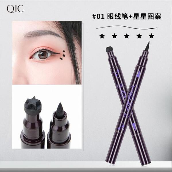 göz kalemi + yıldız