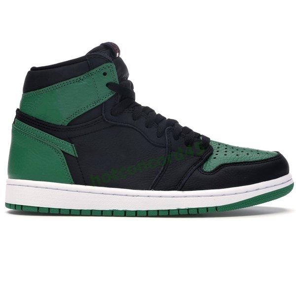 6 High Pine Green Black