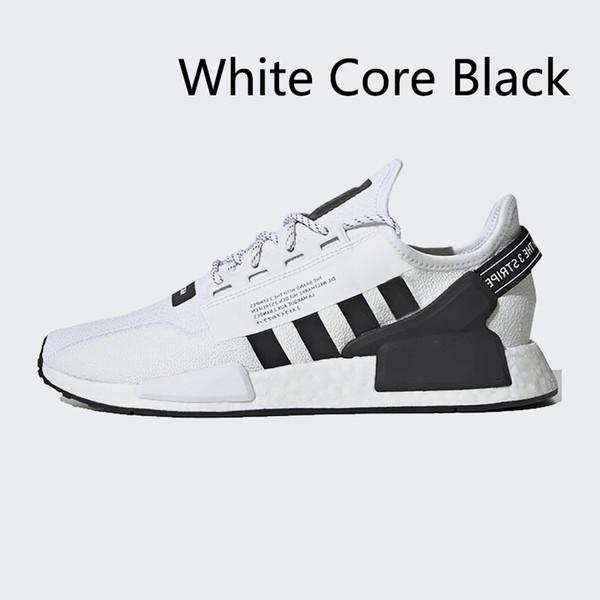 белый черный сердечник