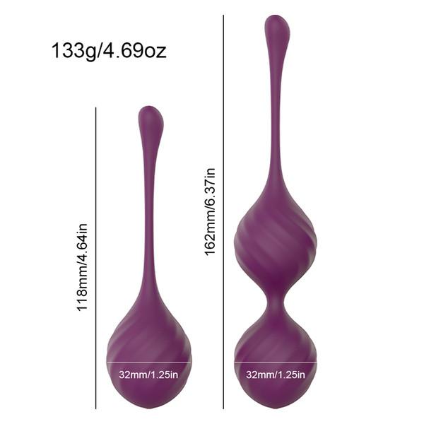 1 purple- 2 bälle