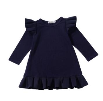 # 1 fliegende Ärmel Mädchenkleider