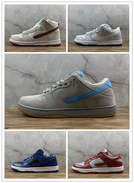 best selling sb low dunk sneakers skateboard sneaker Sail Bright Crimson Iron Premium White Game Royal TERRA Valentines Day trainers kids youth with box