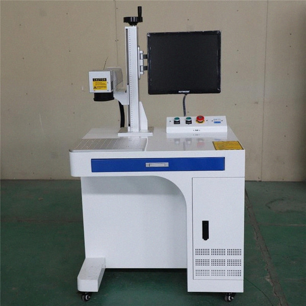 best selling 20W 30W 50W 100W Desktop Optical Fiber Laser Marking Machine Price for Metal plastic 29TG#