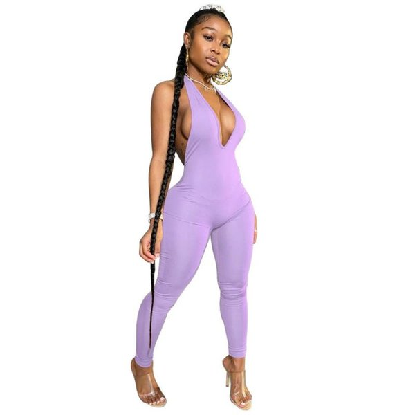 Фиолетовый комбинезон