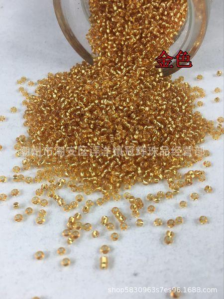 22 # altın 6x0 (3.6mm yuvarlak boncuklar)