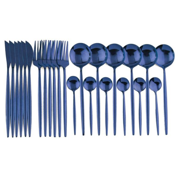 Siyah Kutusu 24pcs Mavi