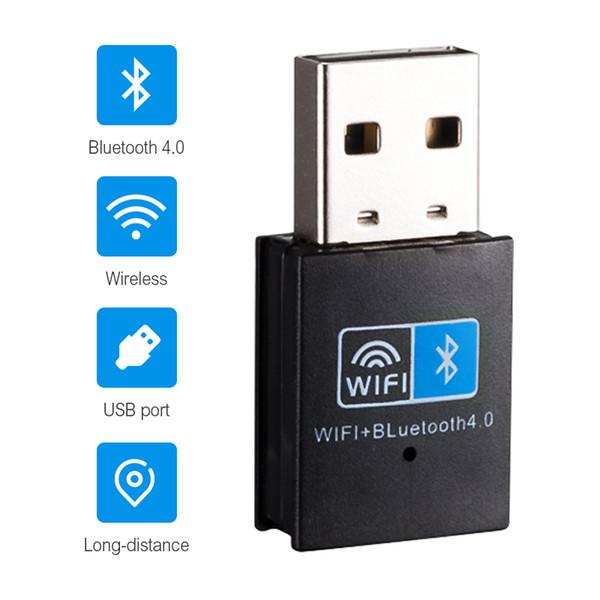 best selling Mini USB Wifi Bluetooth 4.0 Adapter 150M Wireless WiFi Network Card Bluetooth Wireless Adapter for Desktop Laptop PC