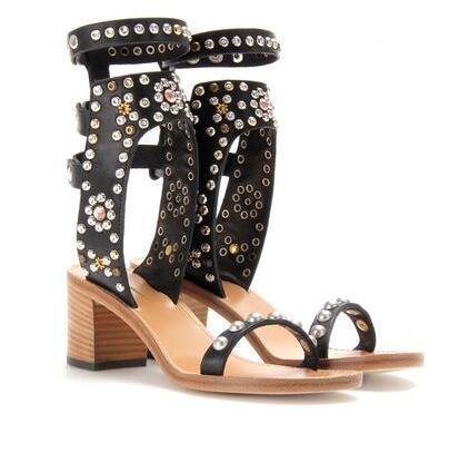 Black 6cm heel