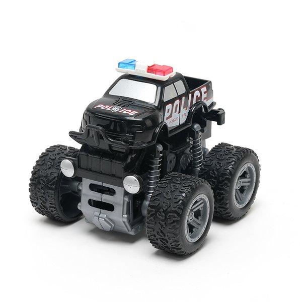 الشرطة سيارة سوداء