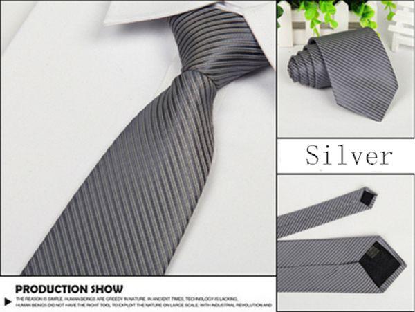 Silver White Line