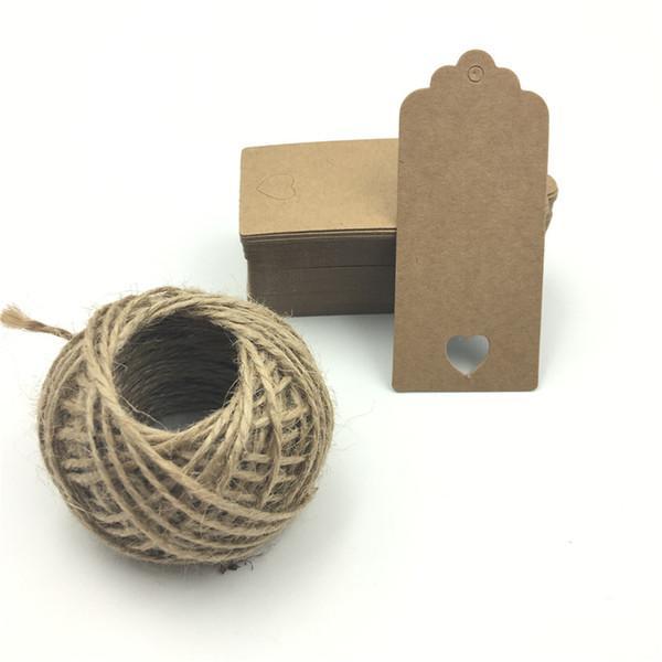 brun avec 15m de corde