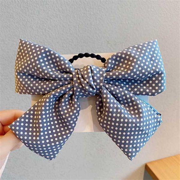 corda de cabelo azul