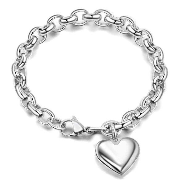 Corazón de plata 16cm