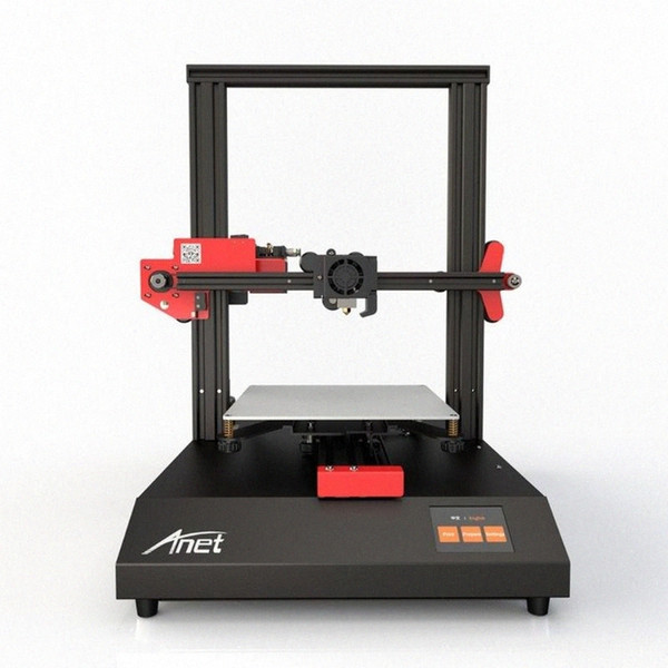 top popular 2.8' High Precision Printer Anet 4 3D Printer Touchscreen Resume Power Failure Printing Filament Run Out Detection CNC Router y9gr# 2021