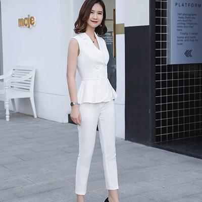 Bianco Suit Pant