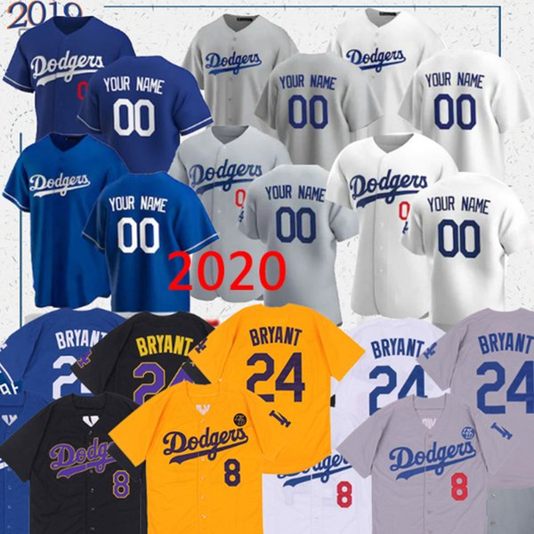 top popular Dodgers jersey Mookie Betts 50 35 Cody Bellinger 22 Clayton Kershaw 14 Enrique Hernandez 31 Joc Pederson custom baseball jerseys 2020