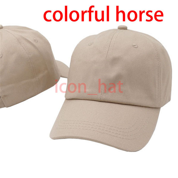 Khaki with Colorful horse