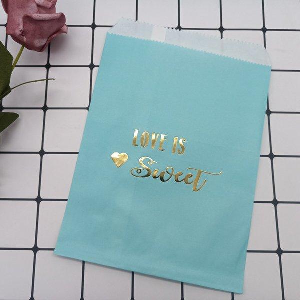 amour bleu est 10pcs 13x18cm doux