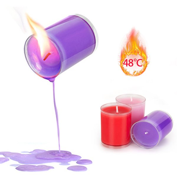 best selling 3 Colors Candles Flirting Candle Low Temperature Candle Wax Drip Erotic Adult Sex Toys for Couple SM Adult Games Flirt Toys