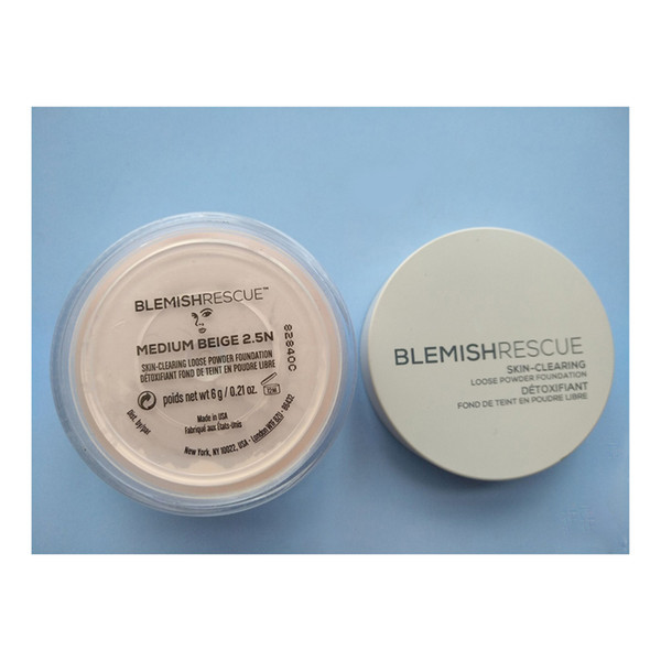 top popular Top seller Minerals BlemishRescue Medium Beige 2.5n Skin Clearing Loose Powder Foundation 6g 2.1oz 2021