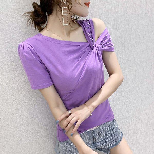 violeta camiseta
