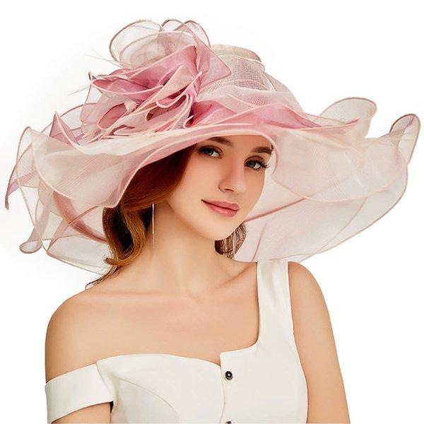 Pembe Güneş Şapkaları